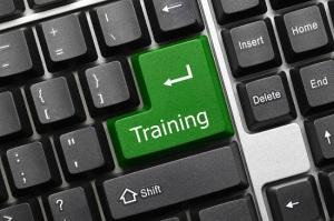 Conceptual keyboard - Training (green key)